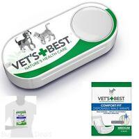 Vet's Best Comfort Fit Disposable Male Wrap, 12 Count Medium Size Wraps,