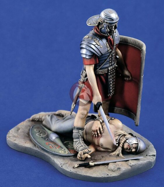"Verlinden 120mm (1/16) ""Death of a Celt"" Roman Legionary Victorious w/Base 1279"