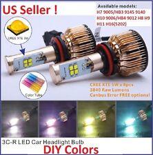 Cree LED Headlight 6 Gen 80W 7680LM Kit H7 9005 9006 H11 H8 H9 9145 H10 H16/5202