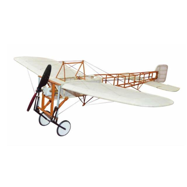 Bleriot XI 420mm Wingspan Wooden RC Airplane Aircraft Fixed Wing  KIT/KIT+Power C