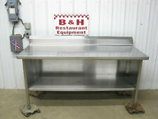 Spg 72 X 30 Stainless Steel Heavy Duty Work Table Kitchen Cabinet 6
