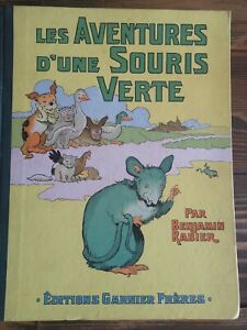 les-aventures-d-039-une-souris-verte-BENJAMIN-RABIER-1950