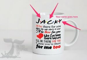 Image Is Loading Personalised Friends Tv Show Mug Cup Christmas Birthday