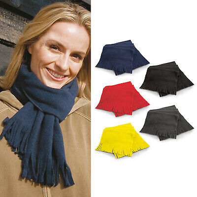 5 Colours Available Result Winter Essentials Polartherm Tassel Scarf