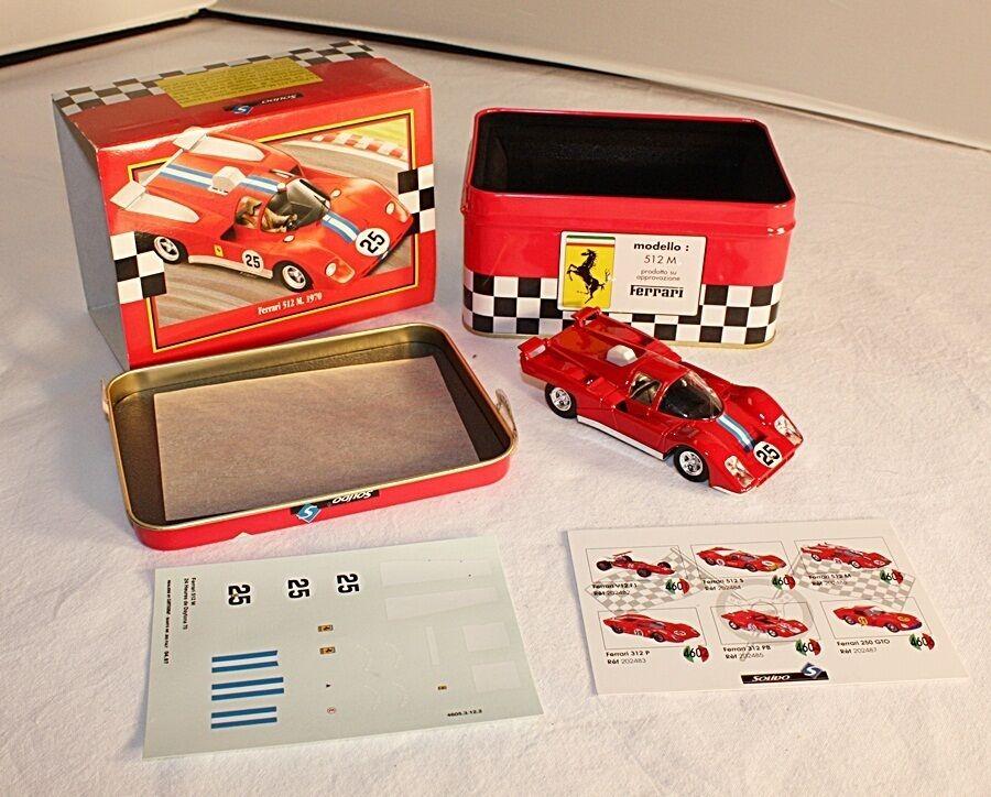 Solido  Ferrari 512 M, 1970, Mint in Box  ab614  le prix le plus bas