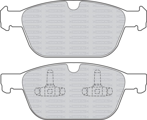 OEM SPEC FRONT AND REAR PADS FOR VOLVO XC60 2.0 TURBO 2010