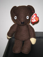 Ty Beanie Baby Mr Bean's Teddy Bear Uk Exclusive Mint With Mint Tags