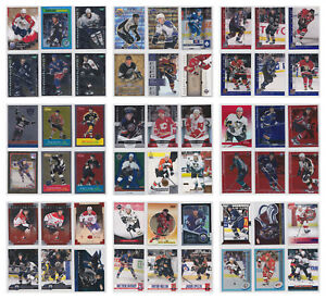 Parallel-Low-Numbered-Refractor-Limited-Rare-Cards-NHL-Hockey-Choose-From-List