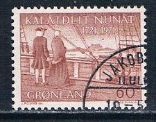 Greenland 1971 Hans Egede's Arrival 60 øre brown-red o/FU SG 75 AFA 77