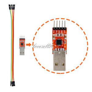 bis UART TTL 5PIN Modul serielle Konverter+Kabel für Arduino CP2102 USB 2.0 zu