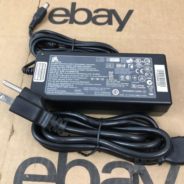OEM Zebra Adapter FSP060-RPAC, P1076000-006 24V, 2.5A, 60W 1.C1