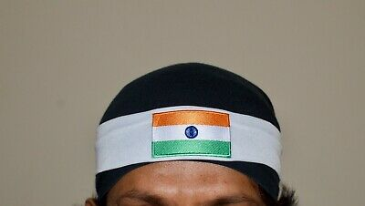 India Indian flag Hair band sport head band 7CM// 5CM  cricket fans head band