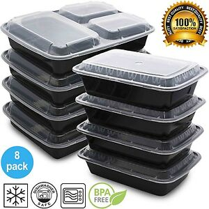 mixed meal prep containers set bento lunch boxes. Black Bedroom Furniture Sets. Home Design Ideas
