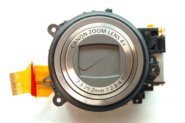 CCD Canon PowerShot S100 12.1 MP Camera Lens Zoom Unit 5x Optical Black USA