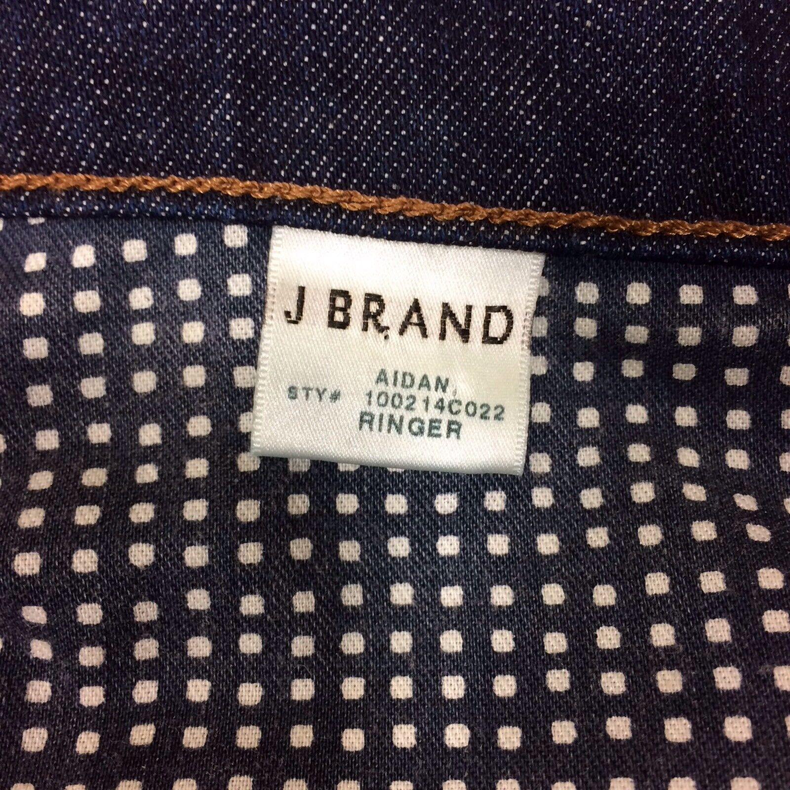J BRAND Jeans Jeans Jeans Donna 26 34 36 Pantaloni Blu Denim Made in California Boyfriend Style d983e3