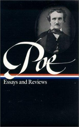 The Library Of America Poe  Essays And Reviews By Edgar Allen Poe  The Library Of America Poe  Essays And Reviews By Edgar Allen Poe   Hardcover  Ebay Internet Letter Wriitng Service also Custom Presentation  Science Fiction Essays