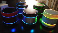 HAUT PARLEUR BLUETOOTH SANS FIL SMARTPHONE 3 RING LIGHT SD MIC,USB.FM.