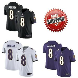 super popular 24a0a 82637 Details about Men's #8 Lamar Jackson Baltimore Ravens Vapor Untouchable  Jersey Stitched