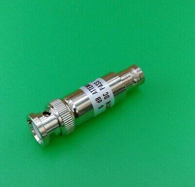 1 PC BNC 6db 5-1000 MHz Attenuator Pads 50 Ohm USA Seller