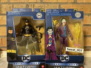 "DC Multiverse BATMAN 6/"" Action Figure Comics Original 80th Anniversary NEW!!"