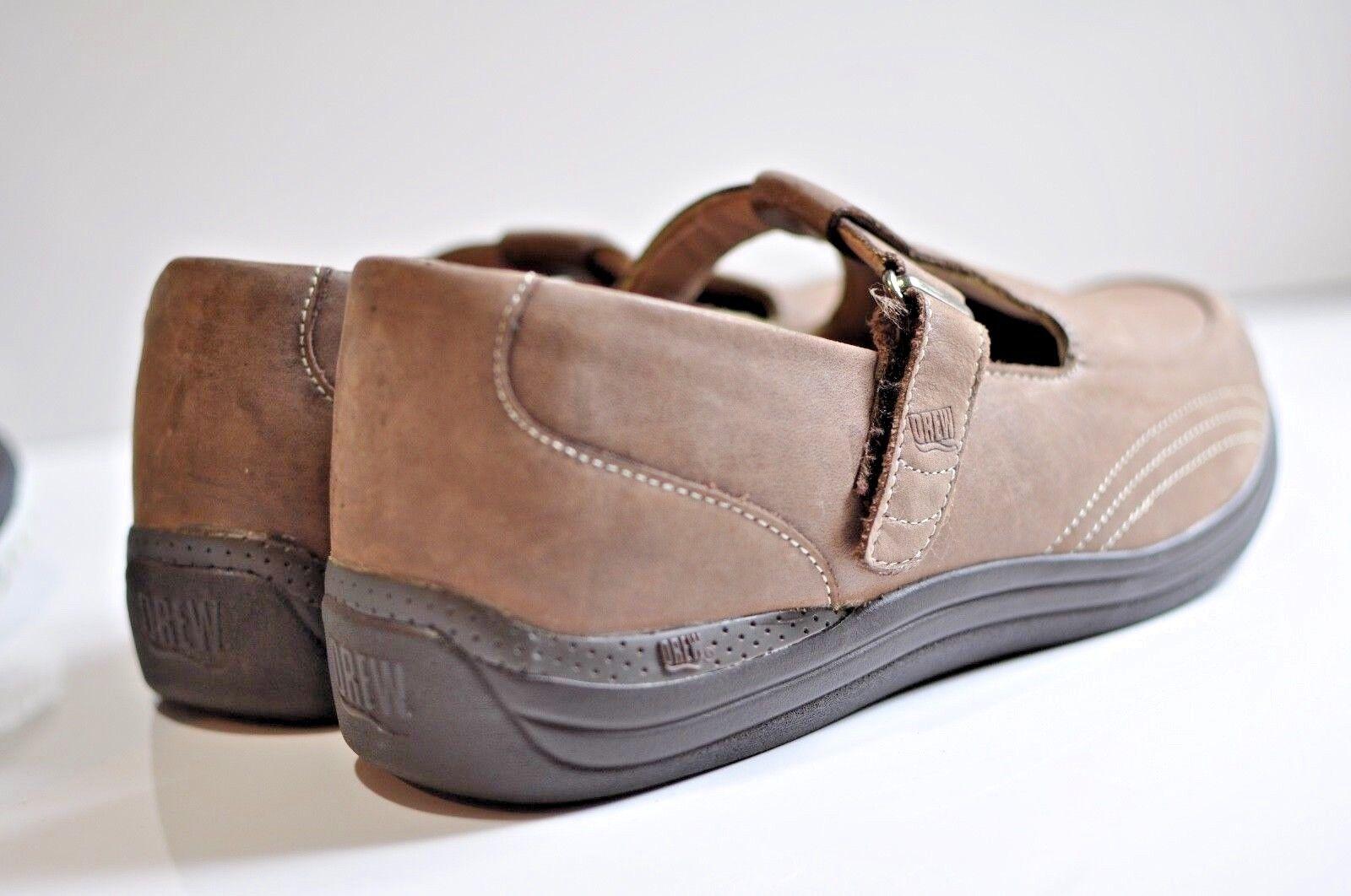 Drew Womens W leather strap shoes size 10.5 W Womens a429cb