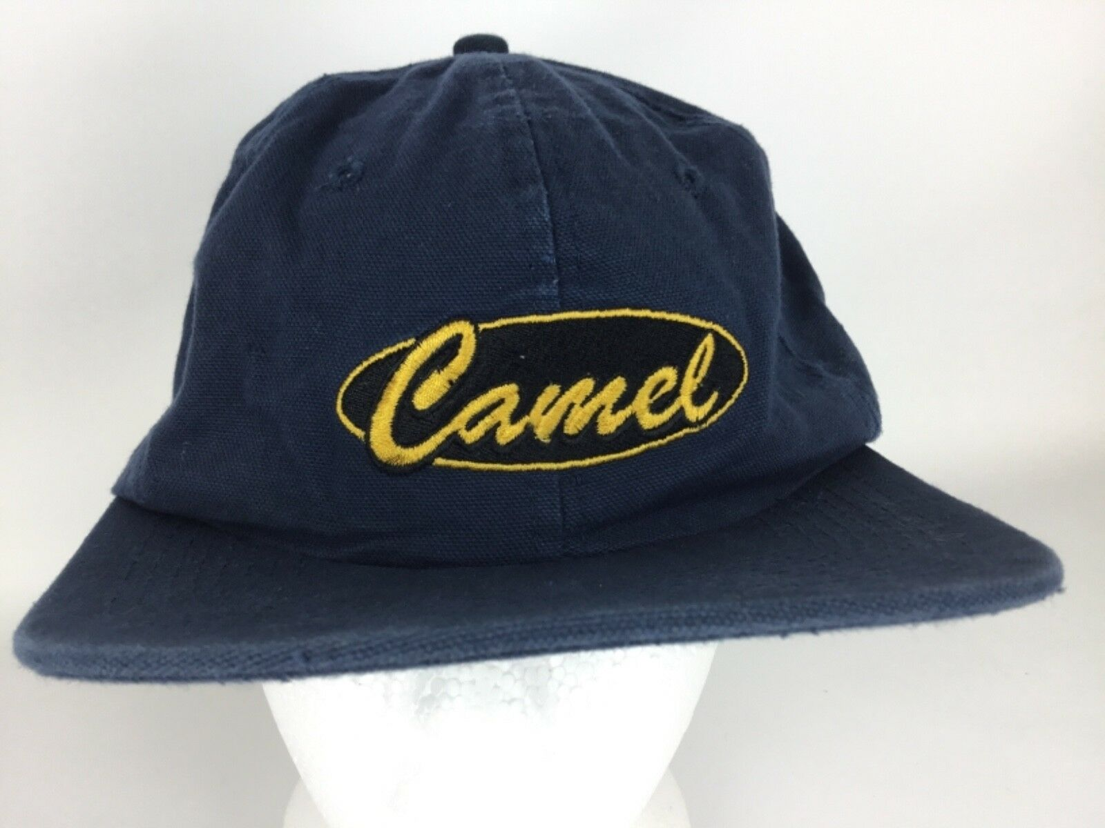 Vintage CAMEL Cigarettes Blue collectable Denim Baseball Cap Hat collectable Blue Free Shipping 860237