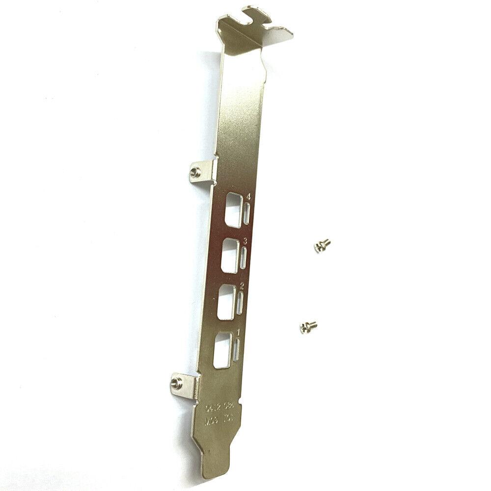 Full Height Bracket for NVIDIA Quadro K1200 NVS510 P400 P600 P1000 Graphics Card
