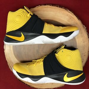 b95dca7c6806 Nike Kyrie 2 Tour Australia Basketball Yellow Black 819583 701 Sz ...