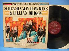 Screamin' Jay Hawkins & Lillian Briggs 1962 VG+ Stereo Record Coronet CXS 218