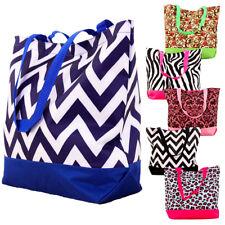Large Printed Tote Bag Shoulder Handbag Purse Big Shopping Grocery Beach Shopper
