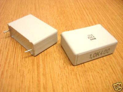 1uf / 400v Evox Mmk 27.5mil (x2)