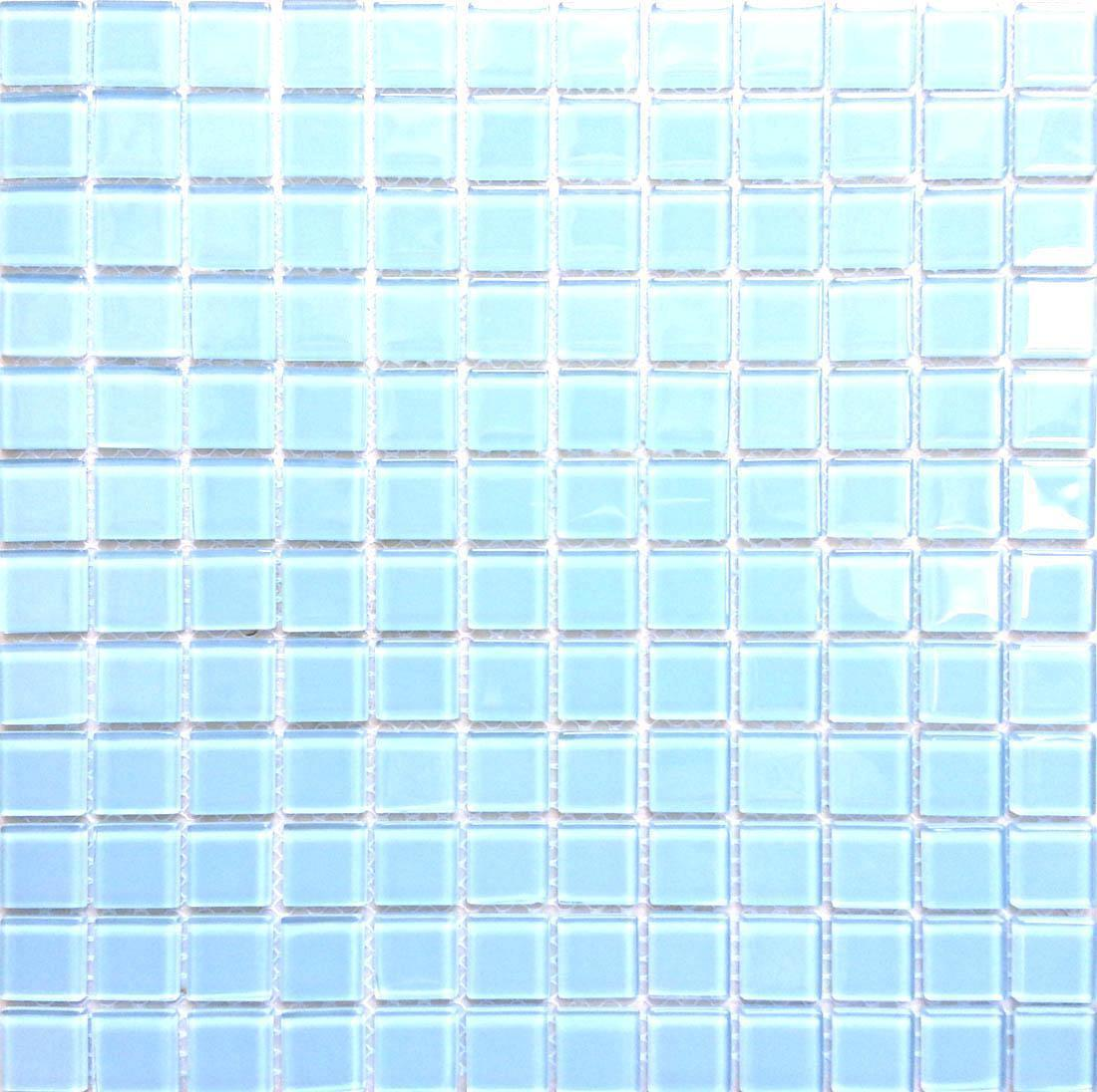 1 SQ M Blau Glass Bathroom Kitchen Bathroom Shower Mosaic Wall Tiles MT0009