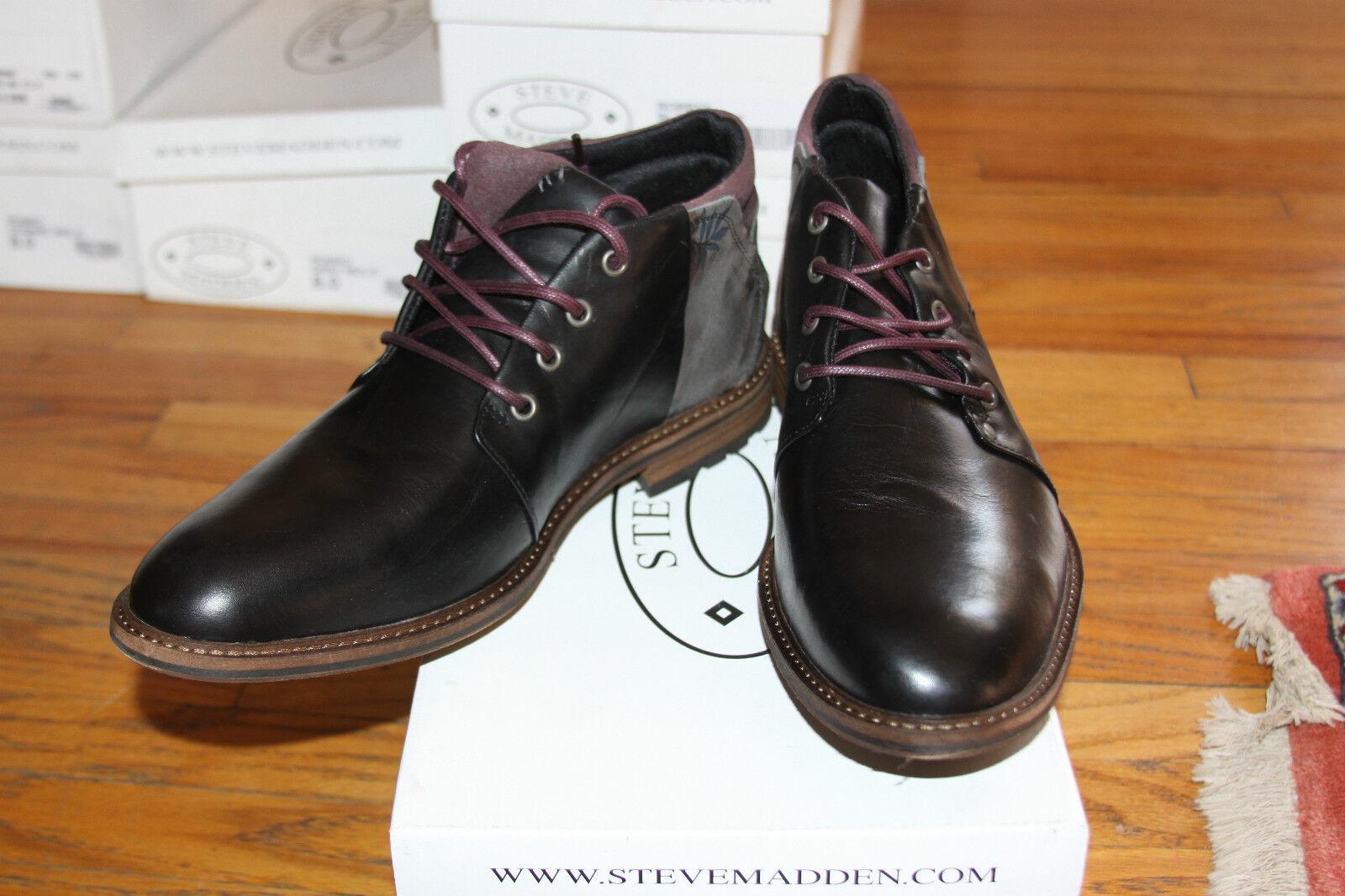 consegna diretta e rapida in fabbrica STEVE MADDEN ROBBYY nero MULTI uomo scarpe scarpe scarpe SZ 8  ottima selezione e consegna rapida