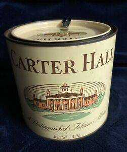 Vintage-Carter-Hall-Tobacco-Tin-Excellent-Condition