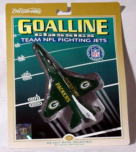 ERTL DIECAST FIGHTER JET - GREEN BAY PACKERS - NIP