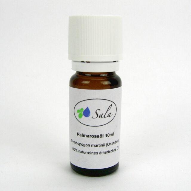 (23,90/100ml) Sala Palmarosaöl 100% naturreines ätherisches Palmarosa Öl 10 ml