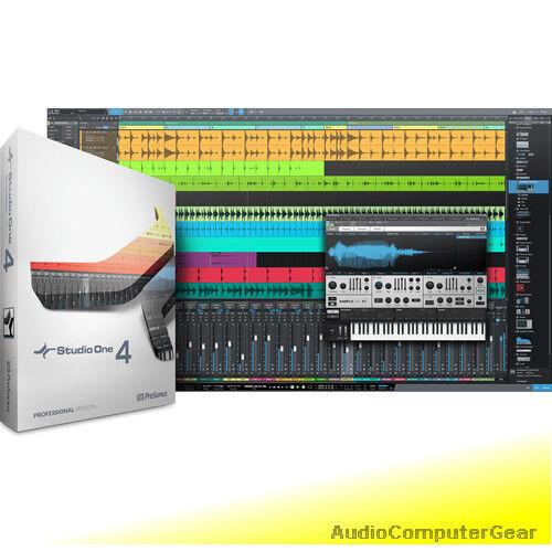 Presonus Studio One One One 4.1 Profesional Actualización de Pro 1, 2 o 3 software DAW Nuevo a872bb