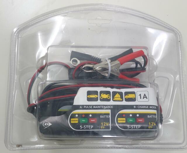 Dunlop Batterie Chargeur, 6/12V Basket