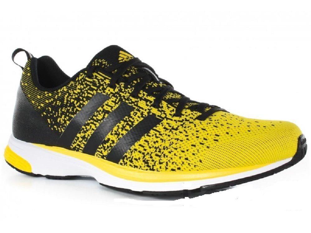 Unisex Adidas Adizero Primeknit 2.0 Amarillo Correr Entrenadores Q21952