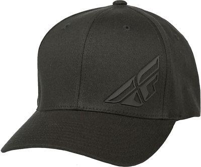 Fly Racing F-Wing Flexfit Hat-Black-L//XL Mens Lid Cap