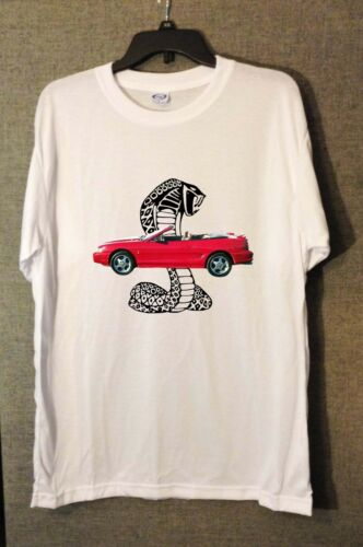 NEW  Ford Mustang Cobras T-Shirts FREE SHIPPING!!