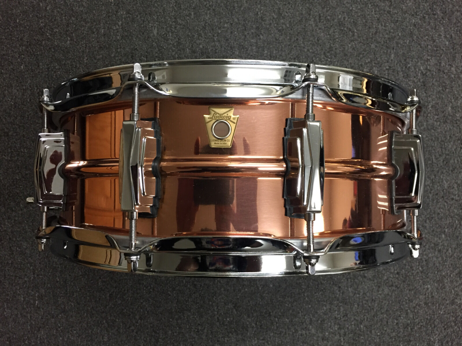 Ludwig Ludwig Ludwig 5x14 Copperphonic Snare Drum LC660  699.99 e8960e