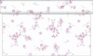 1 Tischläufer Bonnie in Beere aus Linclass® Airlaid 40 cm x 4,80 m - Streublumen