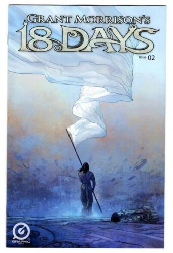 2015 Graphic India NM//NM Grant Morrison/'s 18 Days #2 lot of 2 covers
