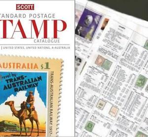 Argentine 2020 Scott Catalogue Pages 607-694-afficher Le Titre D'origine