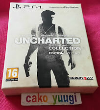 UNCHARTED THE NATHAN DRAKE COLLECTION EDITION SPECIALE NEUF NEW SONY PS4 100% FR