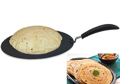 Calidad Premium non Stick Tawa Tava pan indio naan chapati pan plano Panqueque