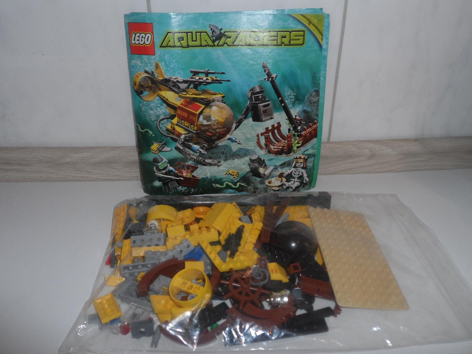 LEGO set 7776 Aqua Raiders bateau épave