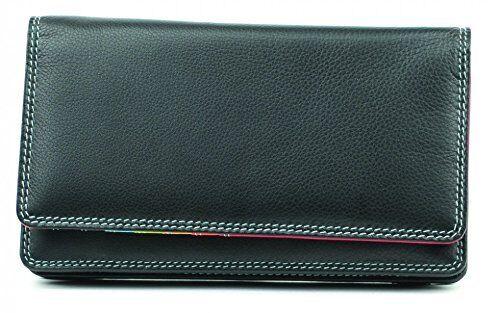 Graffiti di alta qualità grande Real Leather Wallet Purse Nuovo in Scatola Top Brand