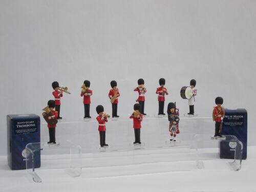 Corgi icono escoceses guardias Bandsmen elección de figura muy baja Stock